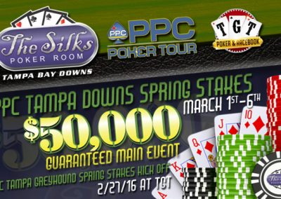 Silks Poker Room Web Advertising Campaign