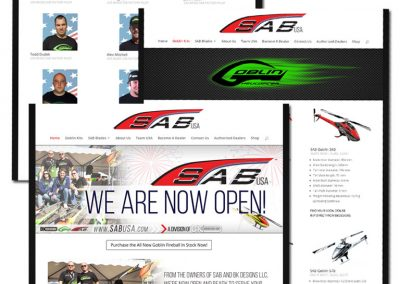 SAB USA Website Design